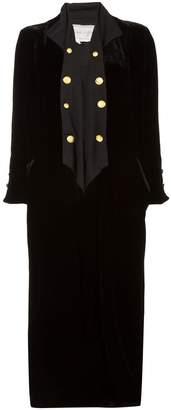 Greg Lauren asymmetric coat
