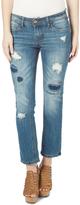 Dollhouse Chloe Distressed Straight-Leg Jeans