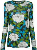 Diane von Furstenberg floral printed top