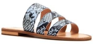 Frye & Co Women's Evie Banded Slide Sandals Women's Shoes