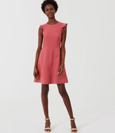 LOFT Flutter Flare Dress