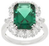 The Elizabeth Taylor 6.10 cttw Simulated Emerald Ring