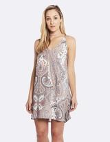 Deshabille Harmony Dress Grey / Pink