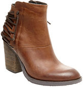 Steve Madden Raglin Leather Ankle Boots