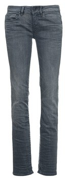 G Star Raw ATTACC MID STRAIGHT women's Jeans in Grey