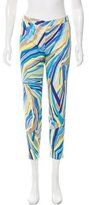 Emilio Pucci Printed Straight-Leg Pants