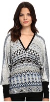 Hale Bob The Dream Catcher Doleman Sleeve Knit Top