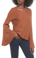 BP Women's Flare Sleeve Sweater