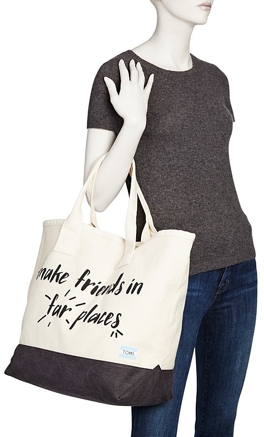Toms All Day Color Block Tote