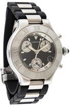 Cartier 21 Chronoscaph Watch