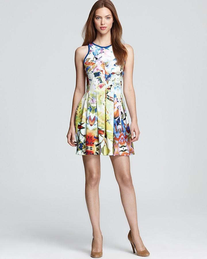 Parker Printed Dress - Rio
