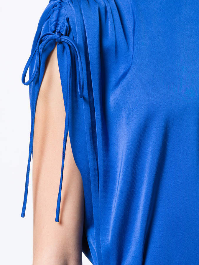 Lover ruched sleeve dress