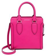 Alexander McQueen Heroine Small Leather Open Tote