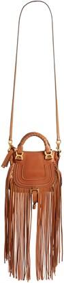 Chloé Mini Marcie Fringe Leather Crossbody Bag