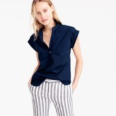 J.Crew Tall short-sleeve popover