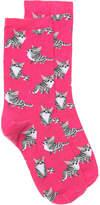 Hot Sox Kittens Crew Socks - Women's