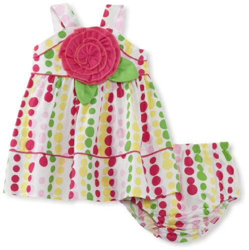 Bonnie Baby Girls Newborn Bright Dot ...