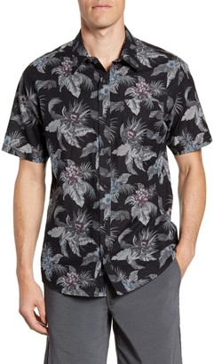 Travis Mathew All Mine Button Down Regular Fit Hawaiian Shirt