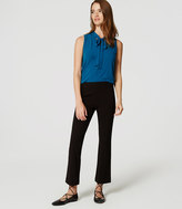 LOFT Ponte Kick Crop Pants