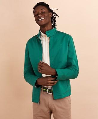 Brooks Brothers Cotton Bomber Jacket