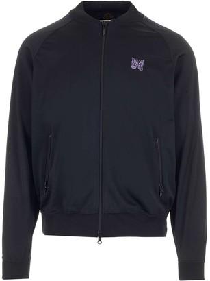 Needles Rib Collar Zipped Jacket