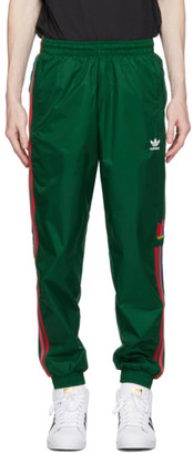 adidas Green 3D Trefoil 3-Stripes Lounge Pants