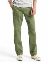 Gap Lightweight slim fit utility pants