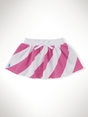 Terry Striped Skirt