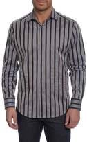Robert Graham Baltica Classic Fit Stripe Sport Shirt