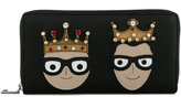 Dolce & Gabbana crowned designers patch wallet