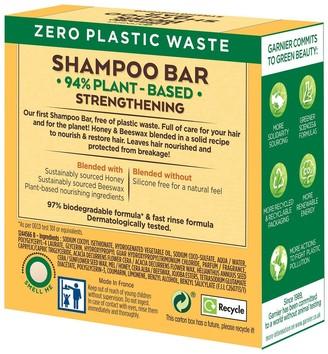 Garnier Ultimate Blends Honey Treasures Strengthening Shampoo Bar for Damaged Hair 60g