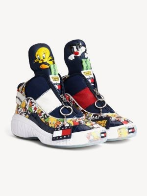 Tommy Hilfiger Tommy Jeans x Looney Tunes Zip-Up Trainers
