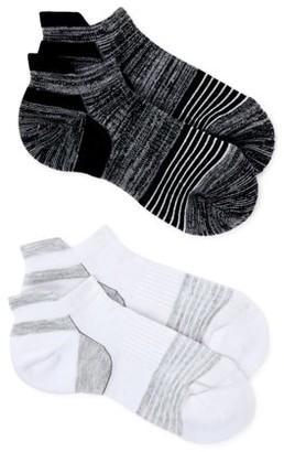 Swiss Tech Women's Merino Wool Low Cut Socks, 2pk