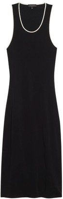 Rag & Bone Nora Piped Open-Back Dress