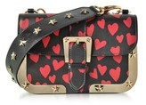 RED Valentino Women's Black Leather Shoulder Bag.