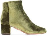 Aquazzura 'Brooklyn' boots - women - Leather/Velvet - 36