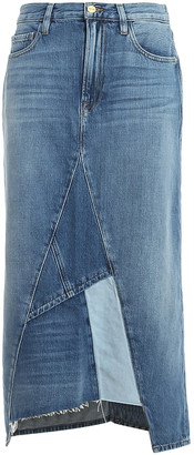 Frame Midi Patch Skirt
