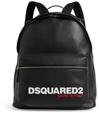 DSQUARED2 Leather Logo Backpack