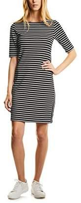 Street One Women's 140526 Dress, (Black 20001)