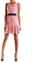 Pinko Women's Pink Polyester Dress.