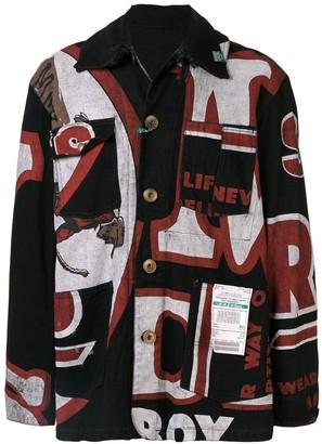 Puma Maison Yasuhiro patch pockets shirt jacket