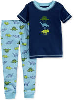 Carter's Little Planet Organics 2-Pc. Dinosaurs Cotton Pajama Set, Baby Boys