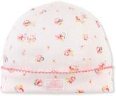 Petit Bateau Newborn baby girls beanie hat