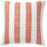Serena & Lily Thatch Stripe Pillow Cover