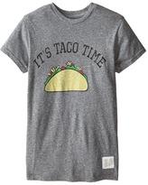 Original Retro Brand The Kids Taco Time Short Sleeve Tee (Big Kids)