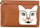 Loewe cat 'T' pouch
