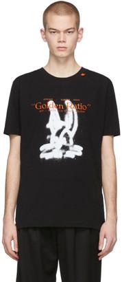 Off-White Off White Black Cartoon T-Shirt
