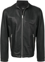 Theory zipped leather jacket