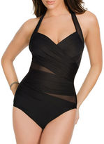 Miraclesuit ?Banded Halter One-Piece Swimsuit