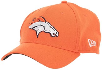 New Era NFL Team Classic 39THIRTY Flex Fit Cap - Denver Broncos (Orange) Baseball Caps